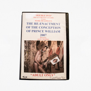 """THE RE-ENACTMENT OF THE CONCEPTION OF PRINCE WILLIAM 2007"", Double DVD."