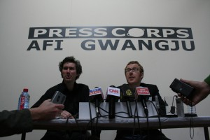 Press Corps AFI/Gwangju Press Conference