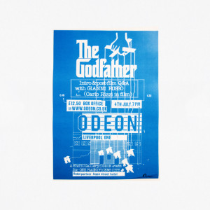 Gianni Russo presents The Godfather. Poster. A3 Size.