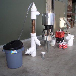 'Coca-Cola Distillery Installation, Atlanta, US